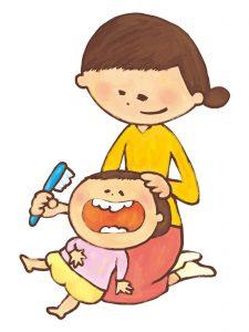 歯磨き,子供